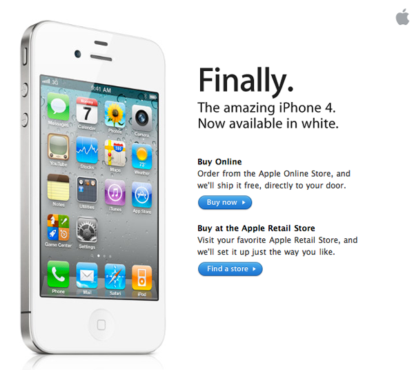 original White iPhone: My Advertising Suggestions
